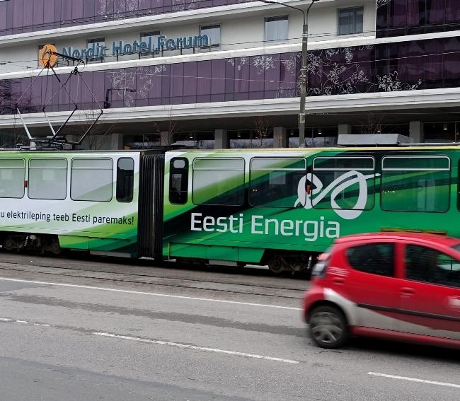 Eesti Energia tramm – kes on näinud, tõstku käsi?