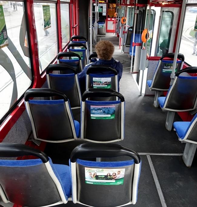 Eesti Energia – istmete seljatoed trammis