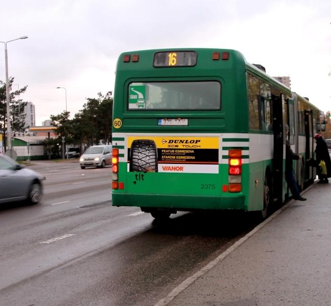 Dunlop – bussi taga väike kleebis