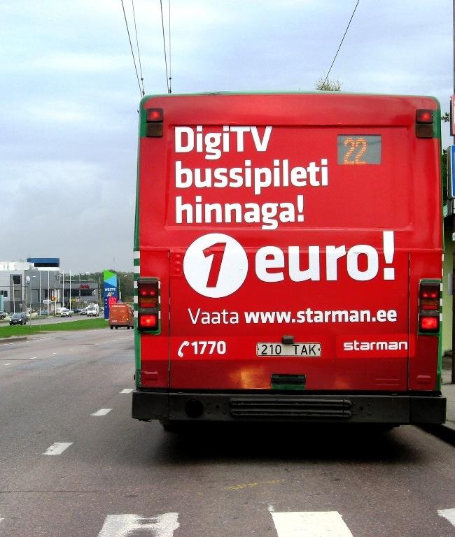 Starman – bussi tagumine külg
