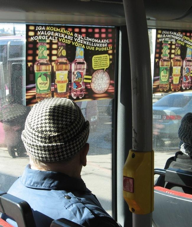 Limpa – A3 kleebised bussis