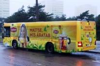 Lipton – üleni kleebitud buss