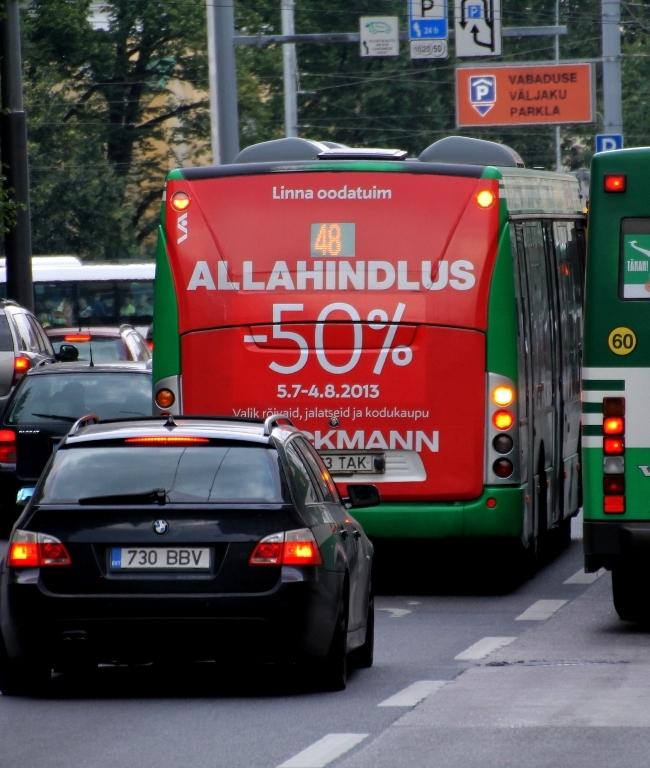 Stockmann – bussi tagumine külg