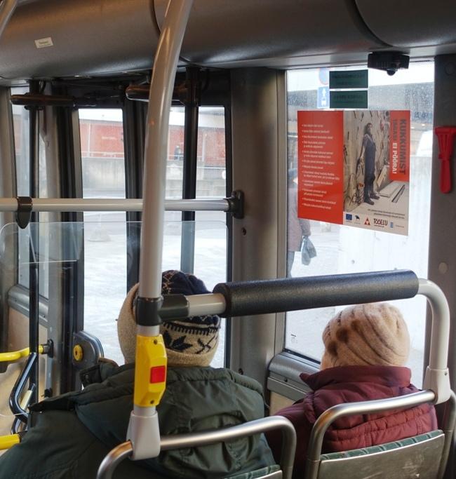 Tööinspektsioon – A3 kleebised bussis