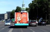 Bauhof – reklaam tagaküljel