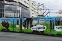 EMT DIIL – üleni kleebitud tramm