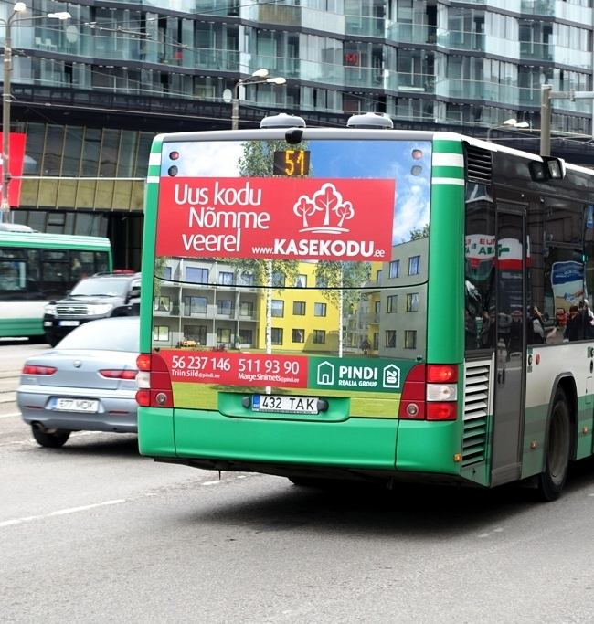 Pindi – bussi tagumine külg