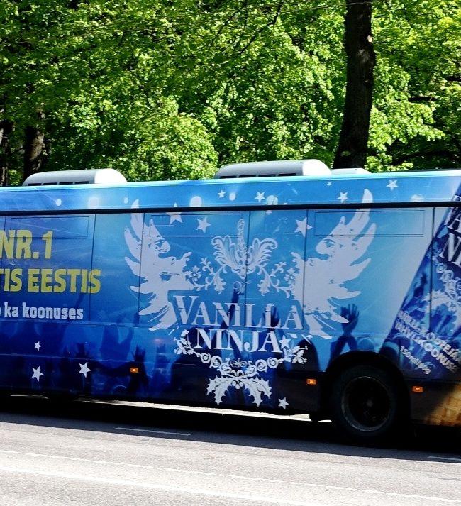 Vanilla Ninja jäätisebuss Balbiinolt