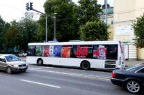 Henkel – buss üleni reklaamkujunduses