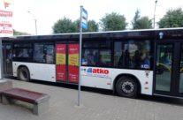 RIMI – reklaam bussi ustel