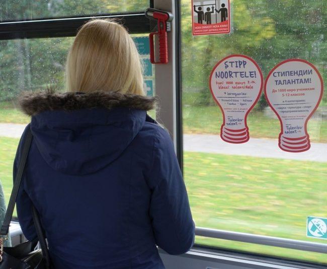 Maxima – sisereklaam bussis