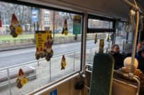 Telia Super – sisereklaam bussis