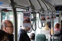 G4S – rippuvad reklaamid bussides