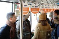 Integratsiooni Sihtasutus – rippuvad reklaamid ühistranspordis