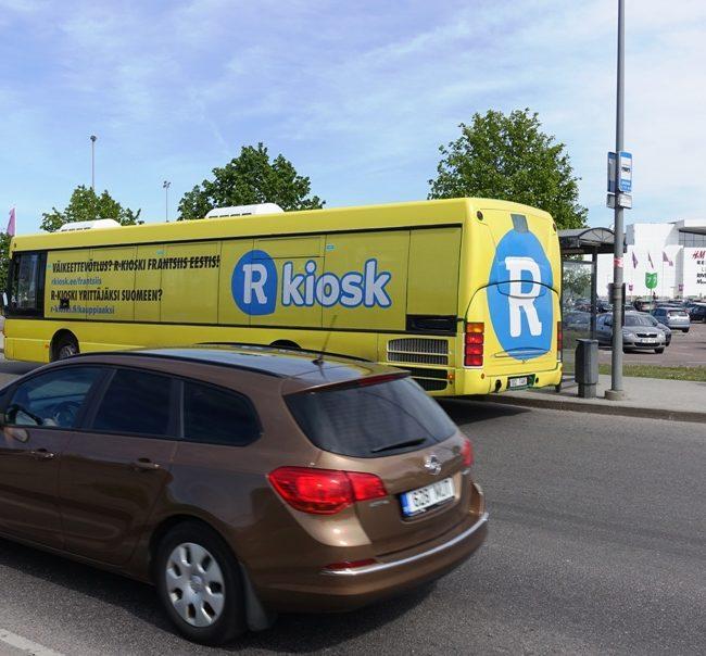 R-Kiosk – reklaam ühistranspordil