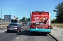 Bingo Loto – reklaam bussi tagaküljel