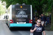 Jurassic World – reklaam bussil