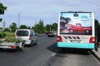 NS King – reklaam bussi küljel