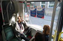 Skypark – reklaam bussis