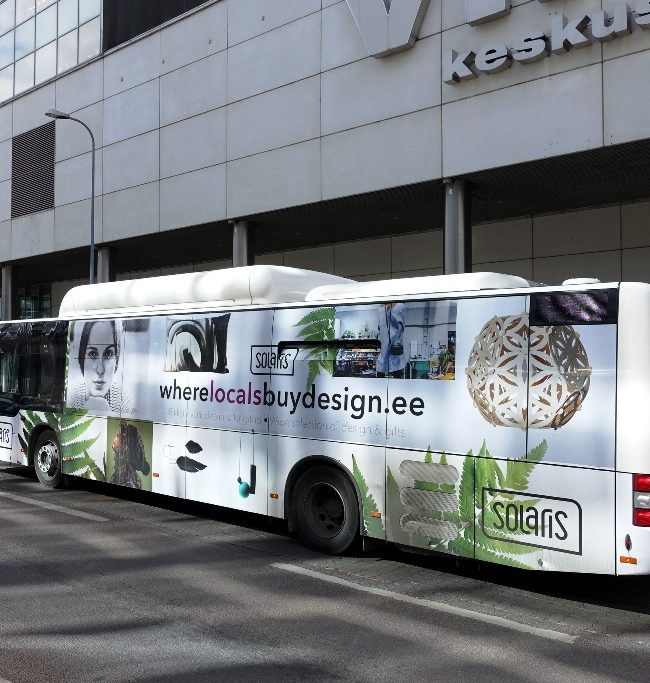 Solaris – reklaam bussidel