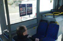 Tele2 – kleebis bussi sees