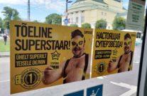 Telia Super – reklaam ühistranspordis