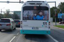 VW – bussireklaam, pool tagakülge