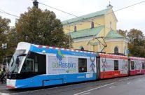 Long Go – tramm üleni reklaamkujunduses