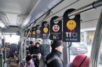 T1 Mall of Tallinn – rippuvad reklaamid ühistranspordis