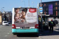 ERGO – kleebis bussi tagaküljel, terve tagakülg