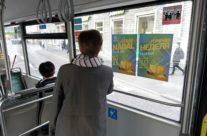 Lasnamäe Centrum – sisereklaam bussis