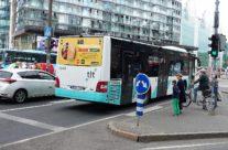 McDonalds – bussireklaam, reklaam bussi tagaküljel