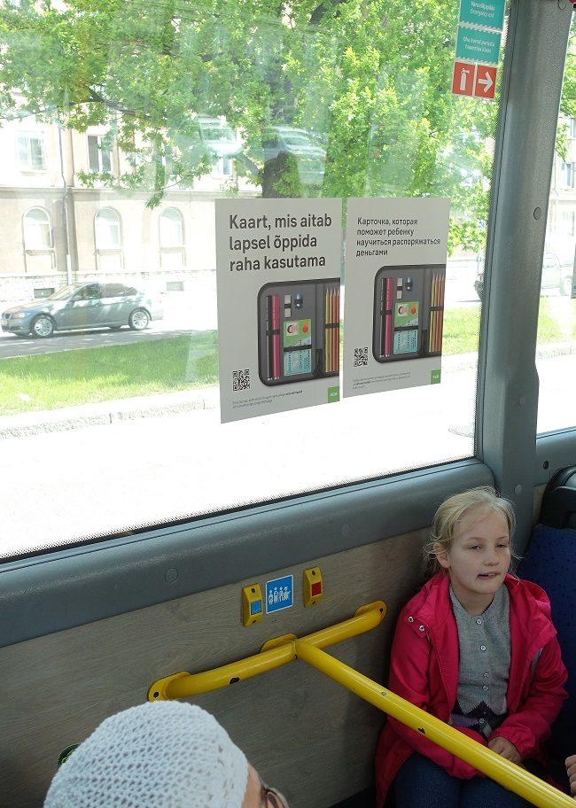 SEB – sisereklaam bussis