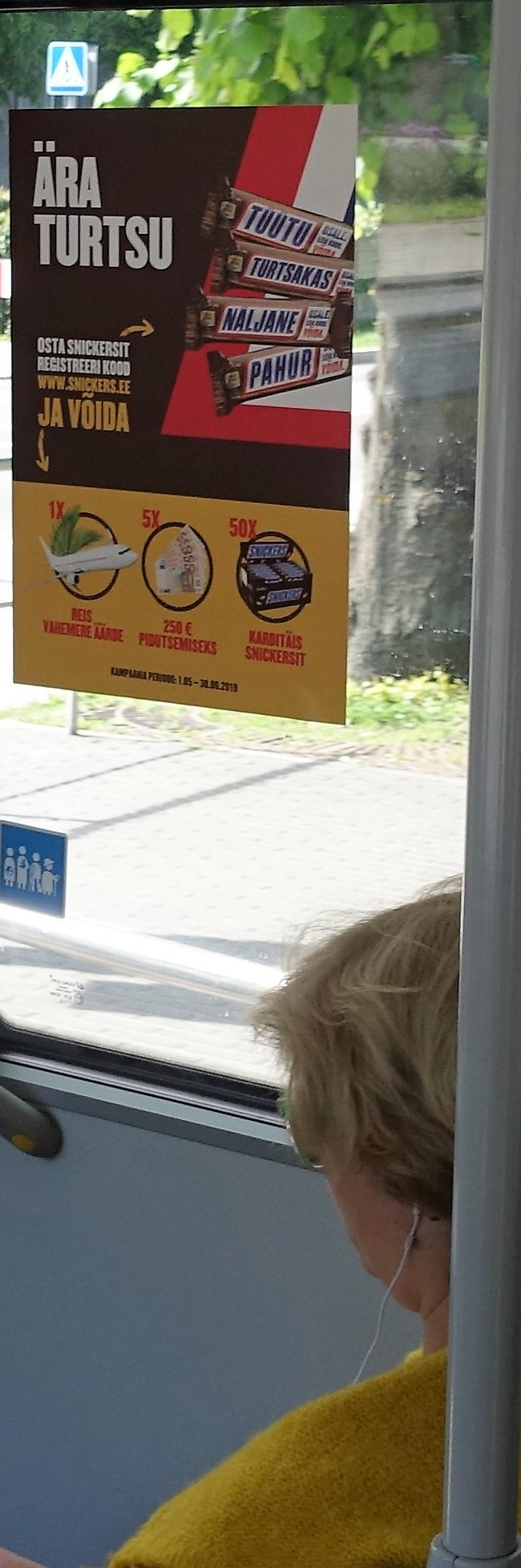 Snickers – reklaam bussis