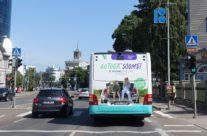 Tallink – reklaam bussi tagumisel küljel