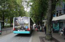 IF Kindlustus – bussireklaam
