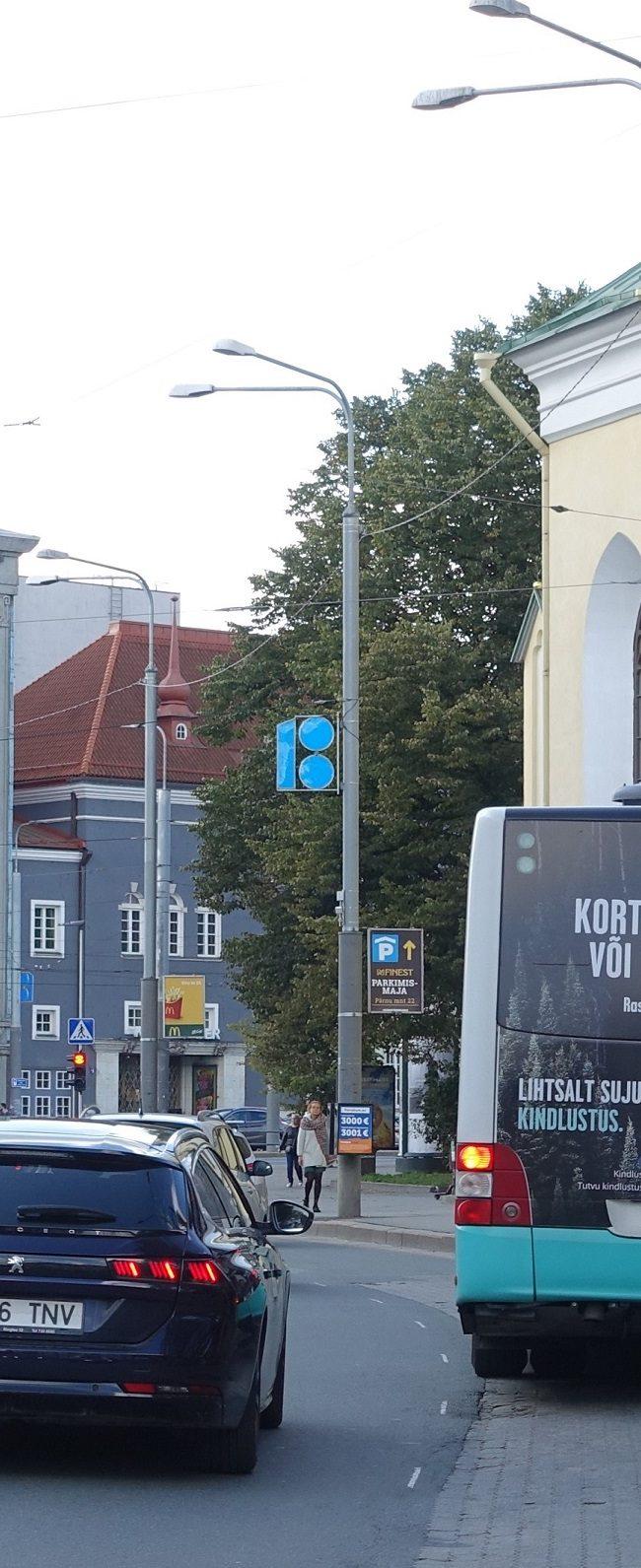IF Kindlustus – reklaam ühistranspordil