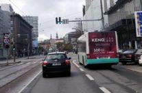 Keno Loto – reklaam bussidel