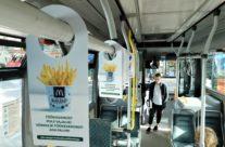 McDonalds – reklaam ühistranspordis