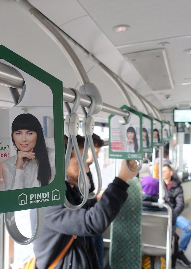 Pindi – reklaam bussis