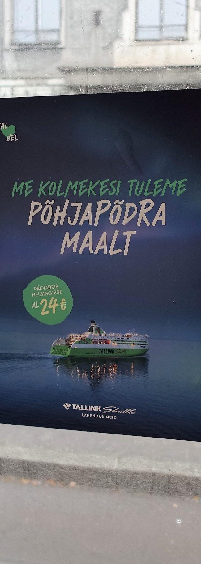 Tallink – kleebis ühistranspordis