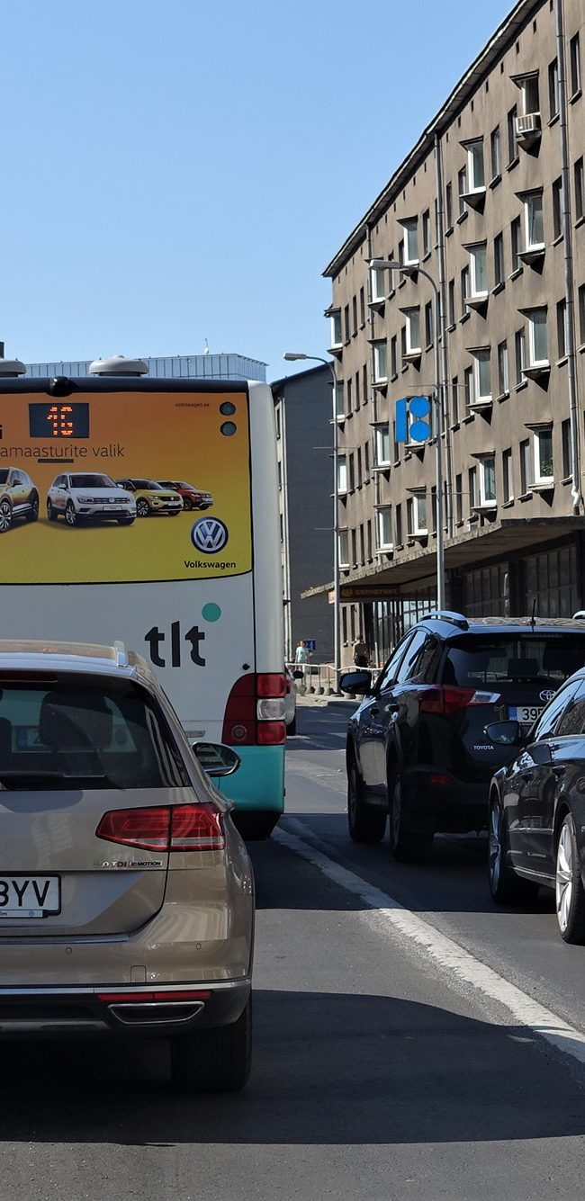 VW – kleebis bussi tagaküljel